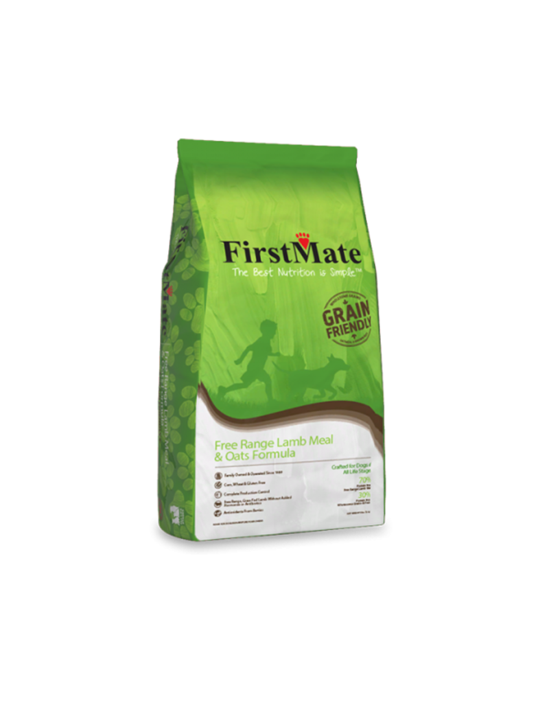 FirstMate Free Range Lamb & Oats