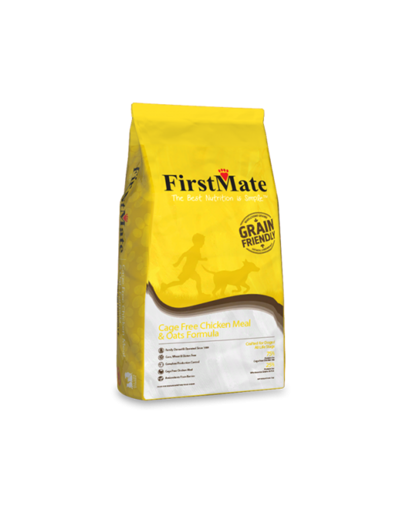 FirstMate Cage Free Chicken Meal & Oats