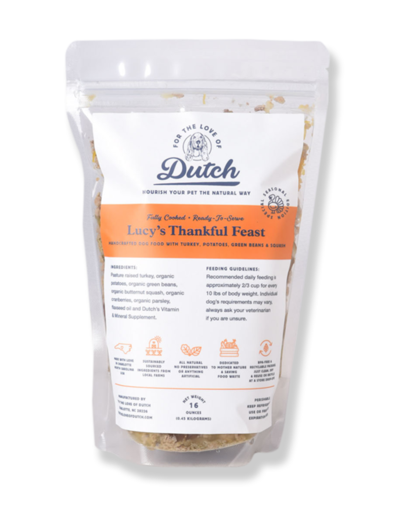 For the Love of Dutch Lucy's Thankful Feast