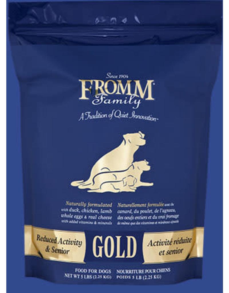 Fromm Gold Reduced Activity & Senior