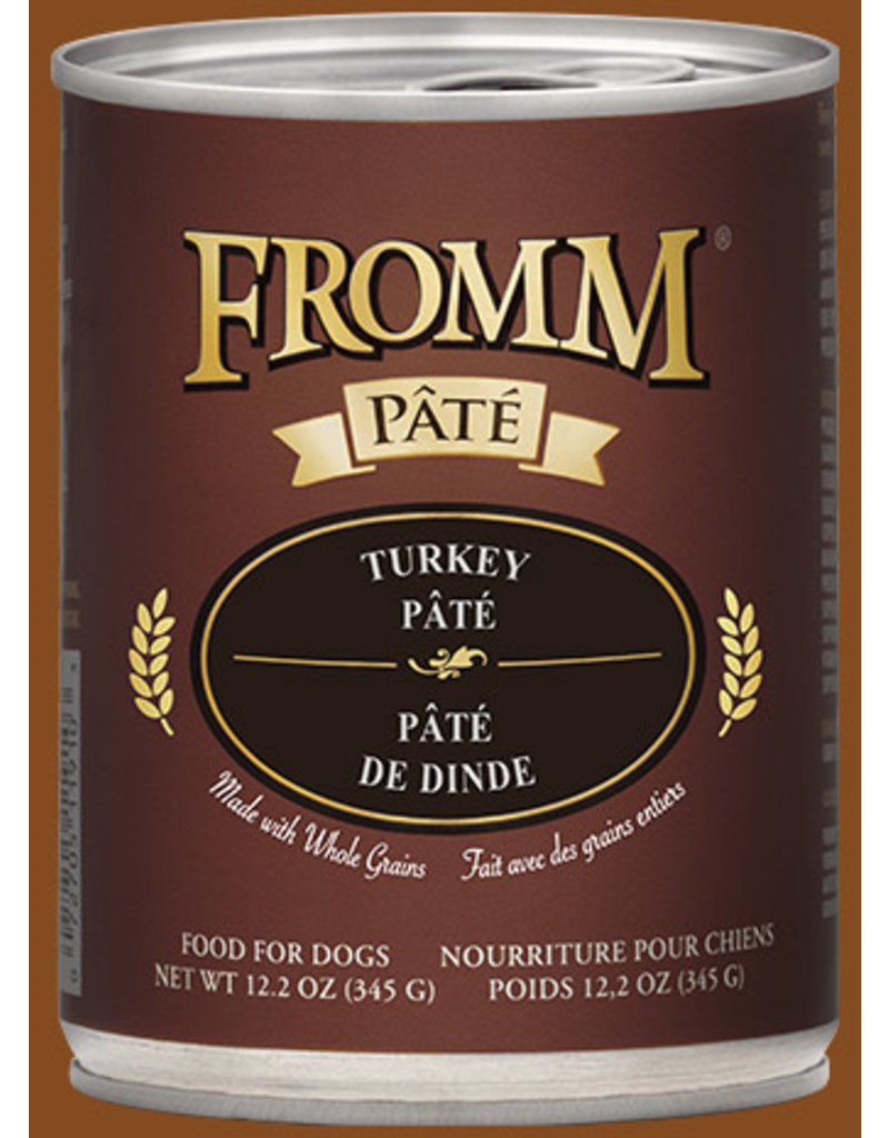 Fromm Turkey Pate' 12.2oz