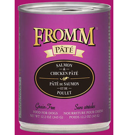 Fromm Salmon & Chicken Pate' 12.2oz