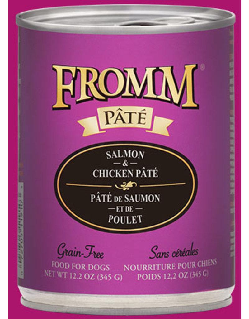 Fromm Salmon & Chicken Pate' 12.2oz