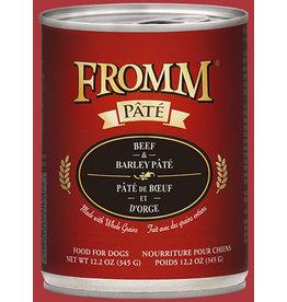 Fromm Beef & Barley Pate' 12.2oz