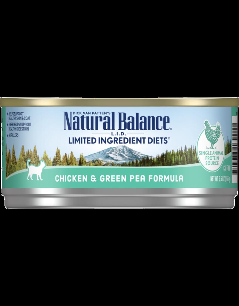 Natural Balance Chicken & Green Pea 5.5oz