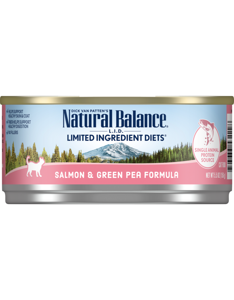 Natural Balance Salmon & Green Pea 5.5oz