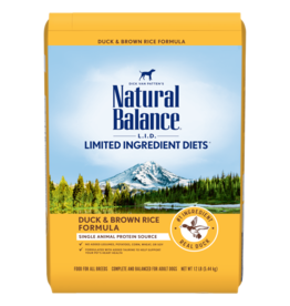 Natural Balance Duck & Brown Rice