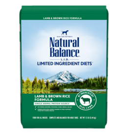 Natural Balance Lamb & Brown Rice