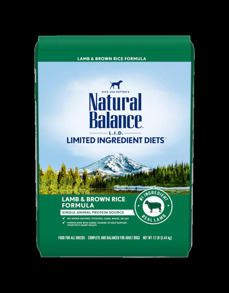 Natural Balance Lamb & Brown Rice