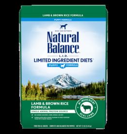 Natural Balance Lamb & Brown Rice Puppy