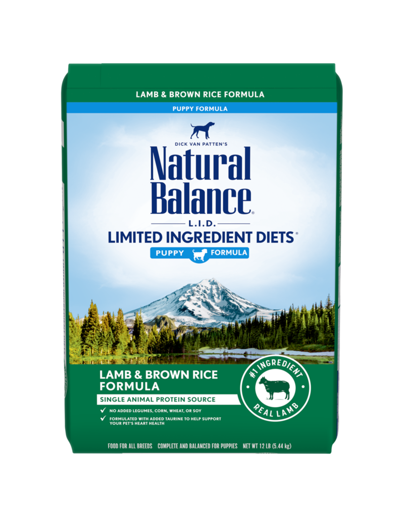 Natural Balance Lamb & Brown Rice Puppy