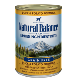 Natural Balance Duck & Potato Can 13oz