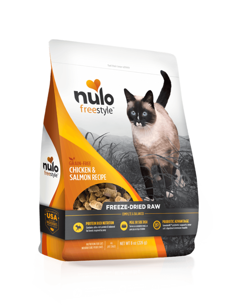 Nulo Freestyle Freeze-Dried Chicken & Salmon