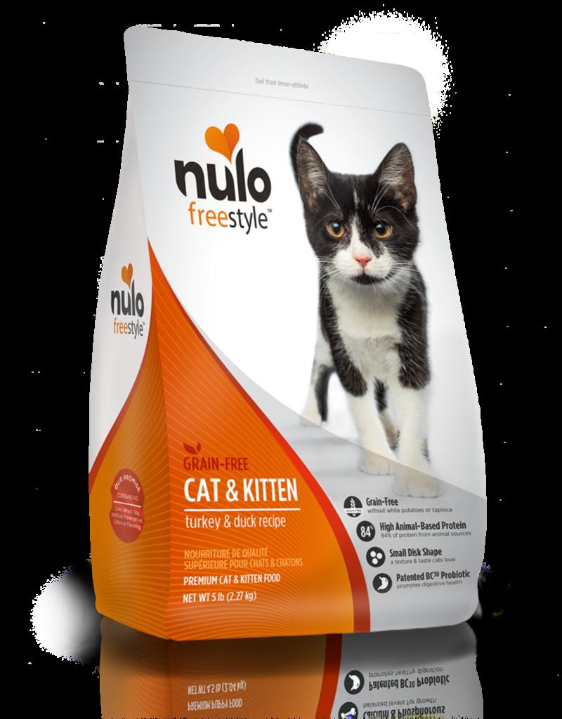 Nulo Freestyle Cat & Kitten Turkey & Duck