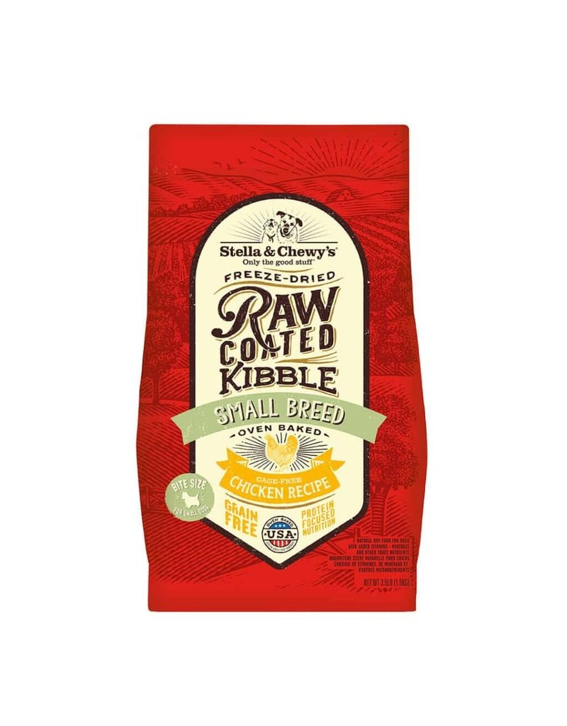 Stella & Chewy's Raw Coated Cage-Free Chicken Small Breed