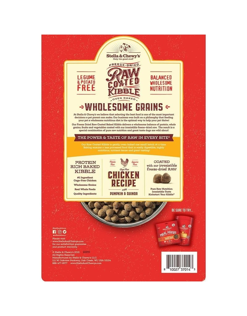 Stella & Chewy's Raw Coated Chicken & Wholesome Grains
