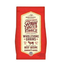 Stella & Chewy's Raw Coated Beef & Wholesome Grains