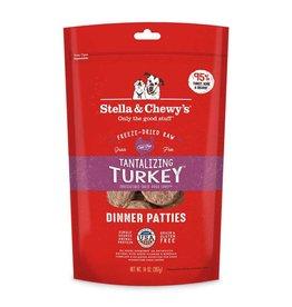 Stella & Chewy's Tantalizing Turkey Freeze-Dried Raw Dinner Patties