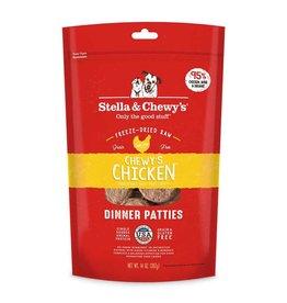 Stella & Chewy's Chewy's Chicken Freeze-Dried Raw Dinner Patties