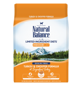 Natural Balance Indoor Turkey & Chickpea 5lb