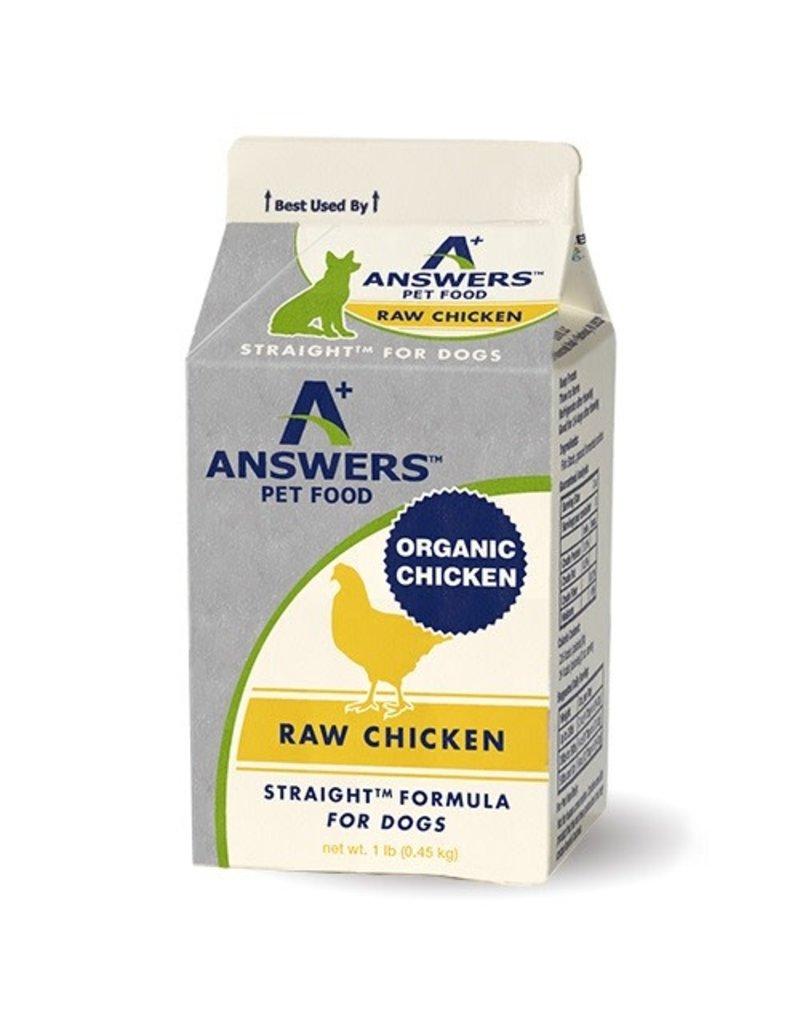 Answers Straight Raw Chicken