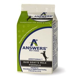 Answers Additional Fermented Raw Goat Milk