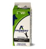 Answers Additional Fermented Raw Goat Milk