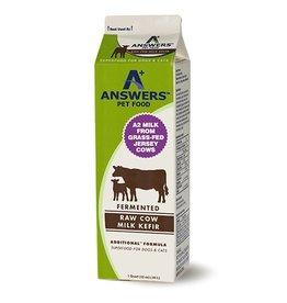 Answers Fermented Raw Cow Milk Kefir
