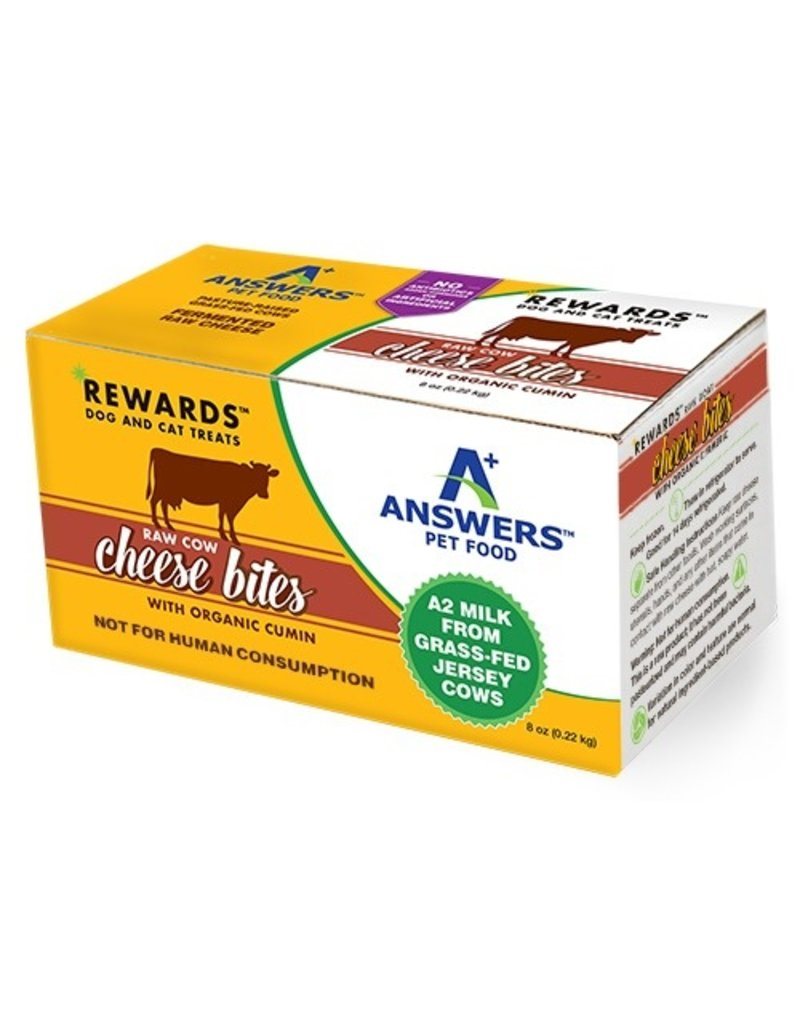 Answers Rewards Raw Cow Cheese