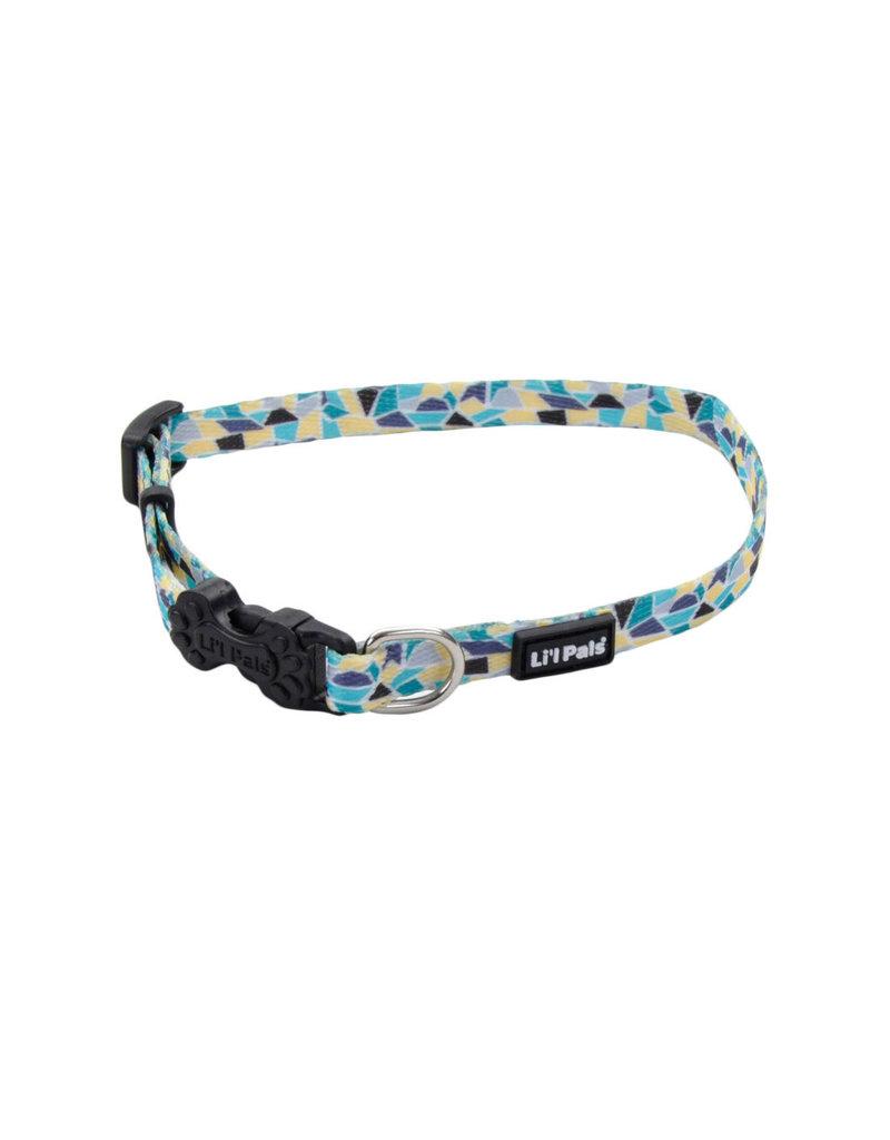 Coastal Lil' Pals Adjustable Patterned Collar