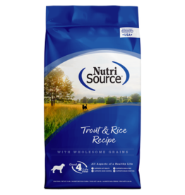 NutriSource Trout & Rice