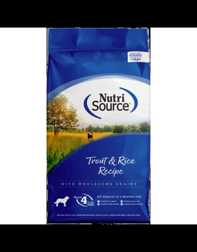 NutriSource Trout & Rice