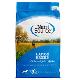 NutriSource Large Breed Chicken & Rice