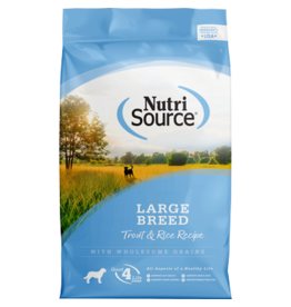 NutriSource Trout & Rice Large Breed