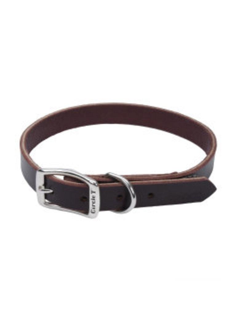 Coastal Leather Town Collar