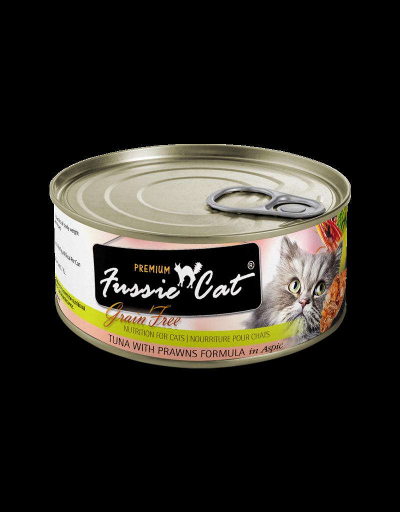 Fussie Cat Tuna with Prawns