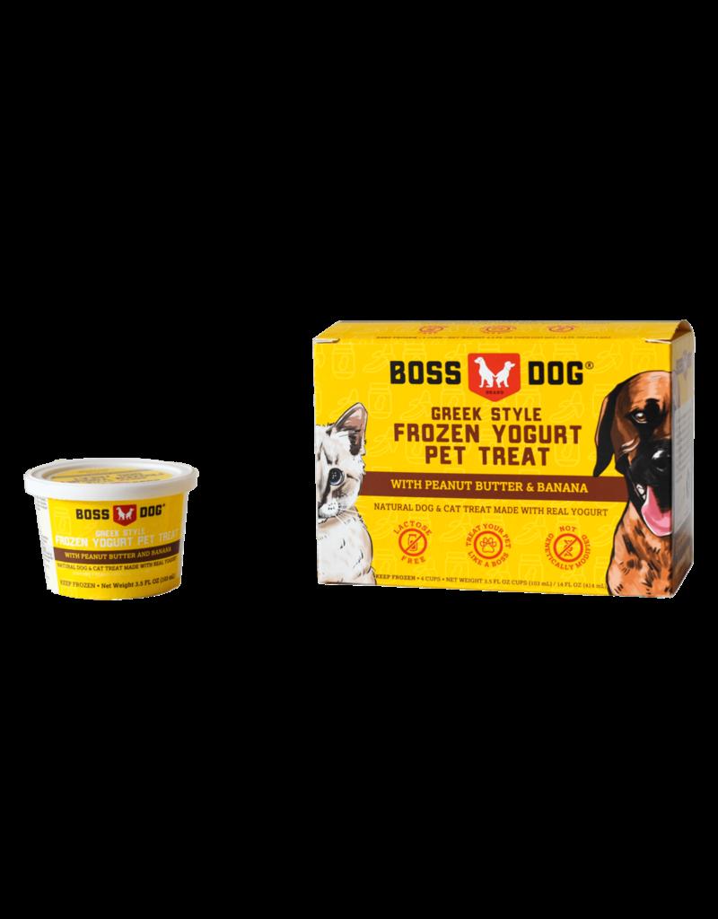 Boss Dog Frozen Greek Yogurt