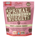 Primal Freeze-Dried Nuggets Turkey & Sardine