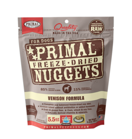 Primal Freeze-Dried Nuggets Venison