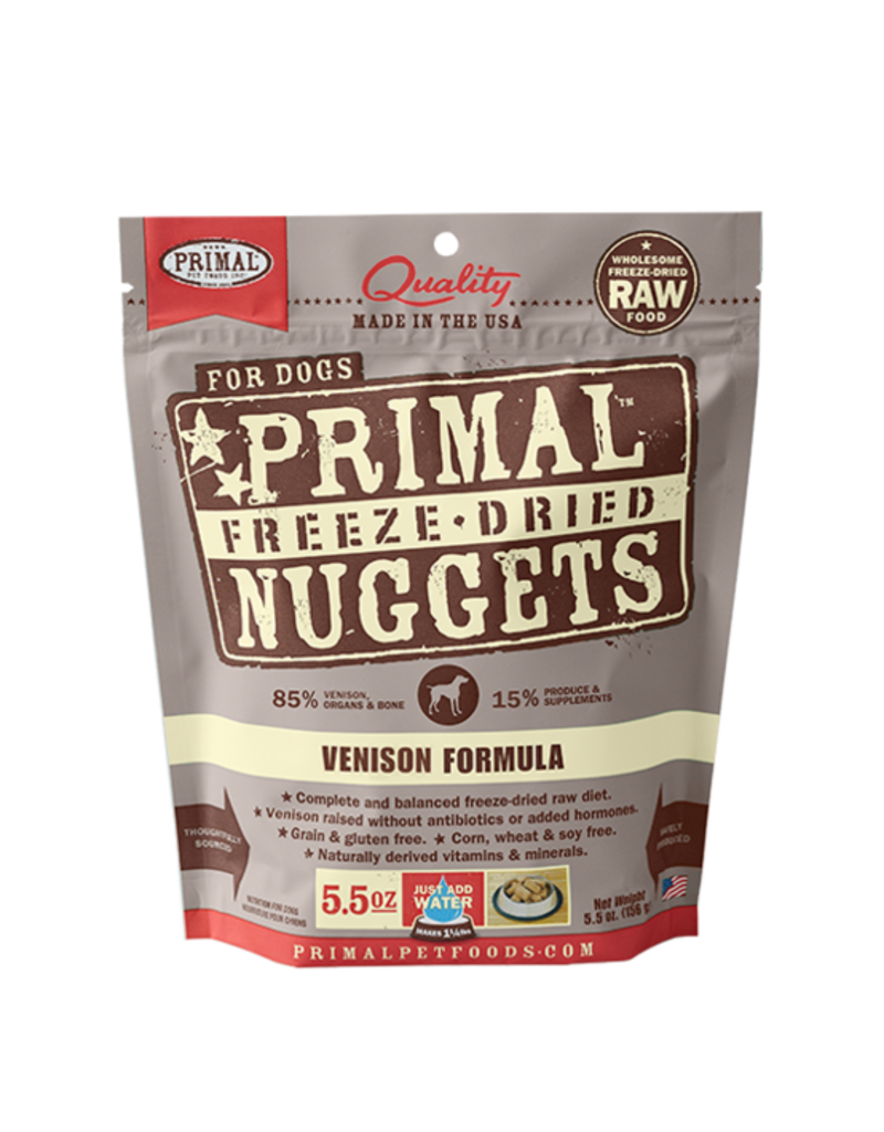 Primal Freeze-Dried Nuggets Venison