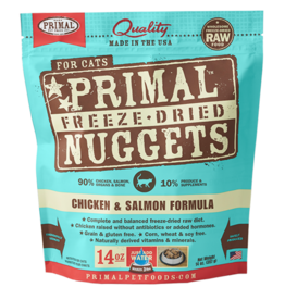 Primal Freeze-Dried Cat Nuggets Chicken & Salmon