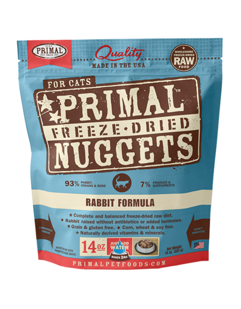 Primal Freeze-Dried Cat Nuggets Rabbit