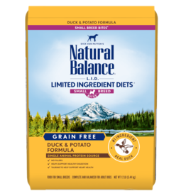 Natural Balance Duck & Potato Small Breed 12lb