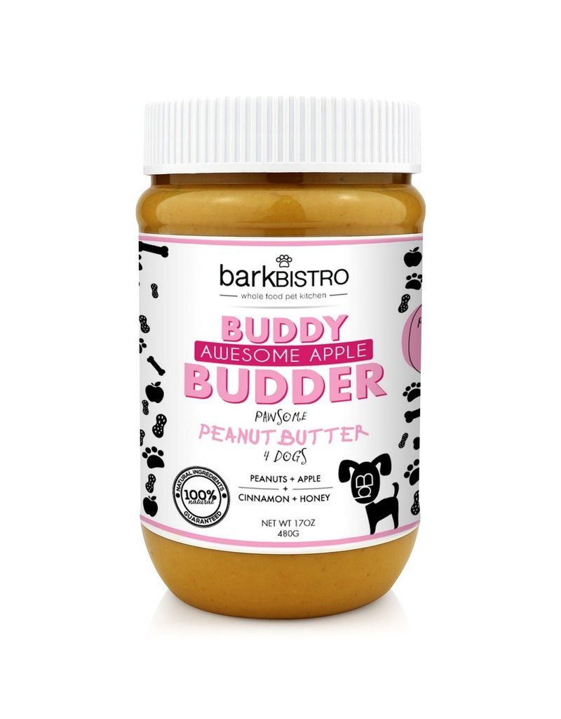Bark Bistro Buddy Budder Awesome Apple 16oz