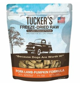 Tucker's Freeze Dried Pork Lamb & Pumpkin 14oz