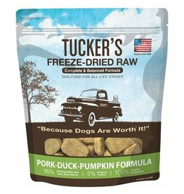 Tucker's Freeze Dried Pork Duck & Pumpkin 14oz