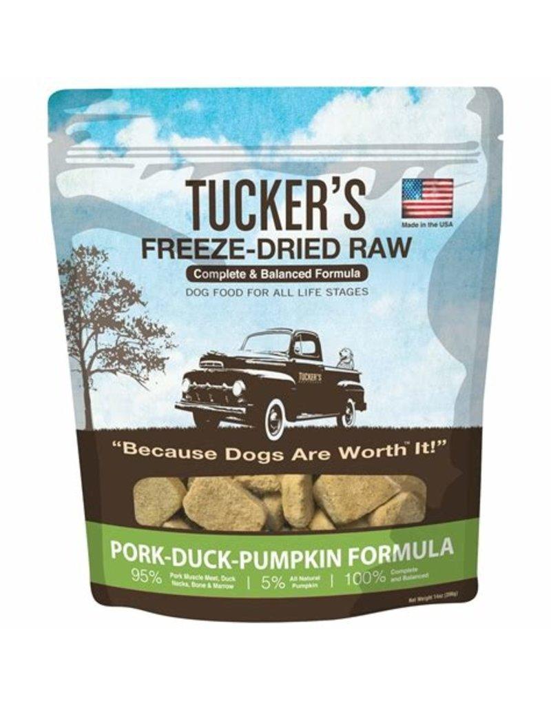 Tucker's Freeze Dried Pork Duck & Pumpkin 14oz