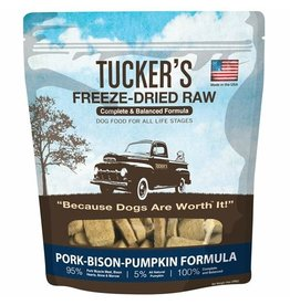 Tucker's Freeze Dried Pork Bison & Pumpkin 14oz