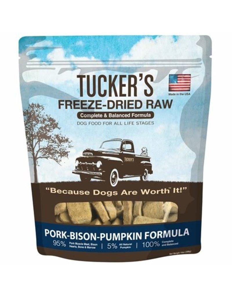 Tucker's Freeze Dried Pork Bison & Pumpkin 14oz