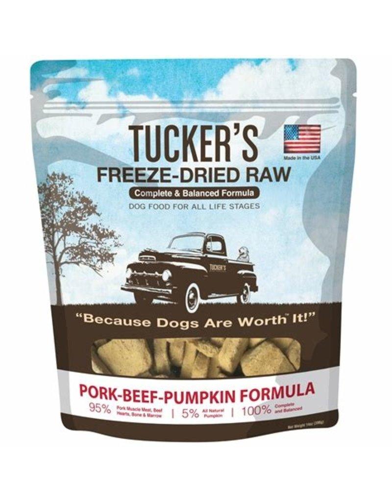 Tucker's Freeze Dried Pork Beef & Pumpkin 14oz